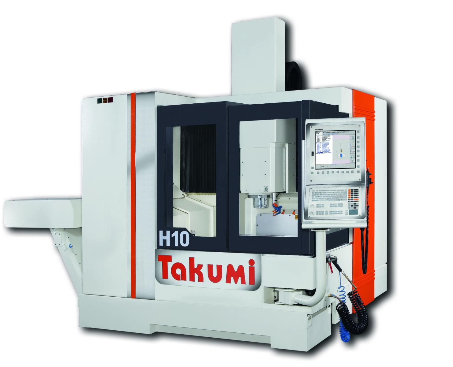 Takumi H10: 3-osiowe centrum obróbcze z Heidenhain Control for Die & Mold
