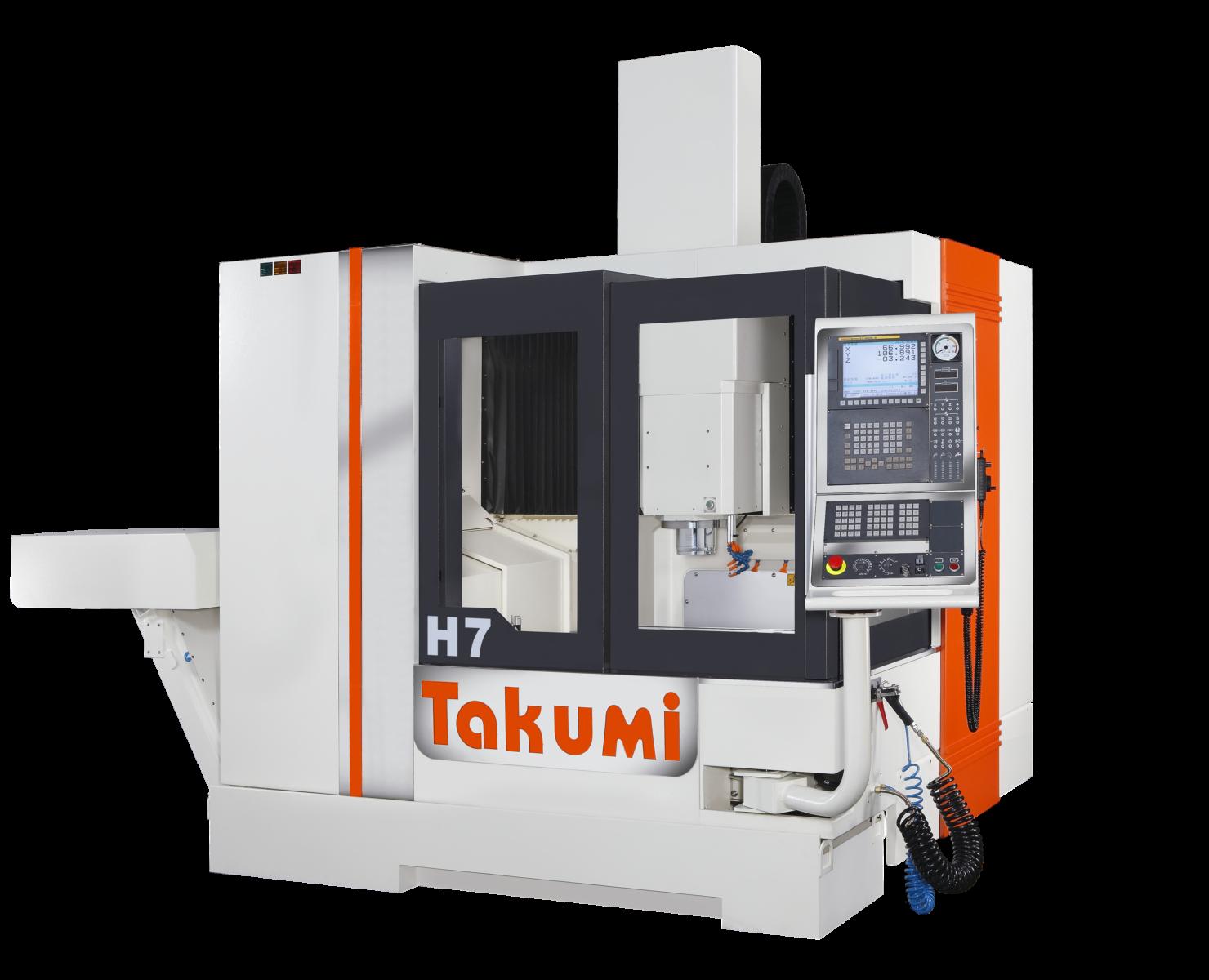 Takumi H7: 3-osiowe centrum obróbkowe z Heidenhain Control for Die & Mold.